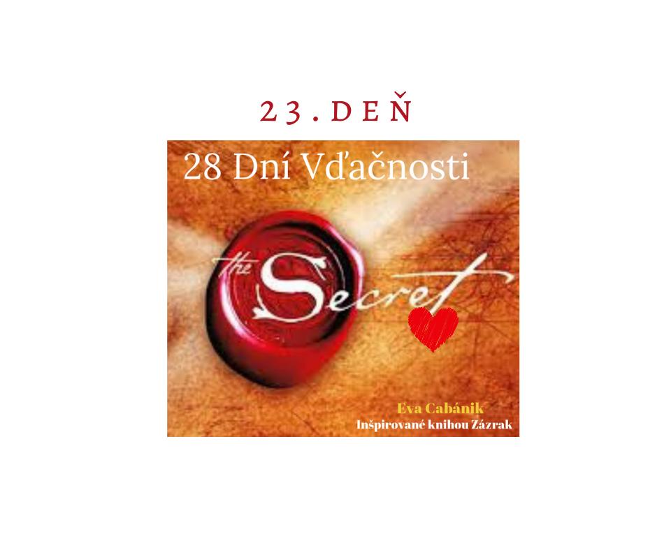 Mesiac ZÁZRAKOV 23